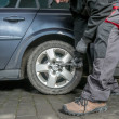 Car tire change — Stock Photo #50871739
