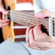 Guiter player — Stock Photo