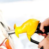 Samoobslužná palivové čerpadlo — Stock fotografie