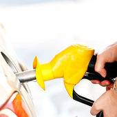 Self service FUEL Pump — Stock Photo