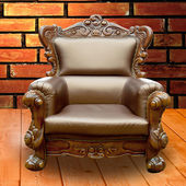 стол стул для клиента. — Стоковое фото