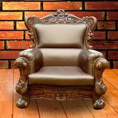 Müşteri için masa sandalye. — Stok fotoğraf