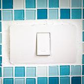 Přepínač vypnout lampu — Stock fotografie
