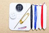 Set facile di bottoni da cucire — Foto Stock