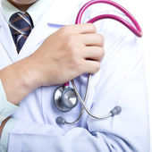 Lékař kontrola zdravý koncepce — Stock fotografie