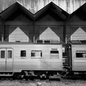 Train Thailand Train — Stock Photo