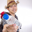 Asian Traveller concept — Stock Photo