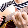 Guiter player - Stock Photo