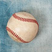 Baseball laying — Stock Photo