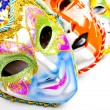Stock Photo: White drammasks