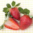 Stock Photo: Strawberry on table