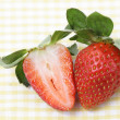 Strawberry on the table — Stock Photo