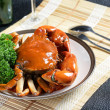 Singapore chili mud crab — Stock Photo