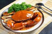Singapore chili mud crab — Stock Photo