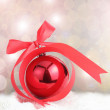 Christmas decoration prepare — Stock Photo