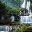 Thailand waterfall in the national park — Stock Photo #37278155