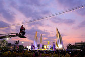 BANGKOK - DECEMBER 05: 1,000,000 of Thailand's celebration Fathe — Stock Photo