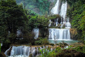Thailand waterfall in the national park — Stock Photo