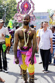 PENANG, Malaysia - JANUARY 17: Indian devotee prepare for celebr — Stock Photo