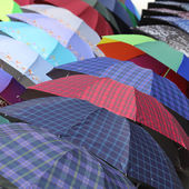 Colorful of umbrellas — Stock Photo