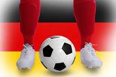 Germany soccer player — Stok fotoğraf