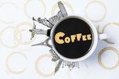 Coffee Travel — Stock Photo