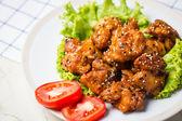Sesame chicken  — Stock Photo
