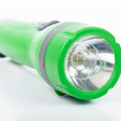 Green flashlight — Stock Photo #51392559