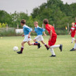 Stock Photo: Kids soccer