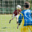 Soccer goalie — Stock Photo #12339272