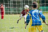 Portero de fútbol — Foto de Stock