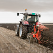 Tractor Plowing — Stock Photo #15932363