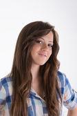 Portrait of teenager — Stock Photo