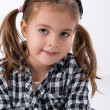 Little girl posing — Stock Photo