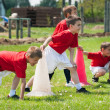 Stock Photo: Football training