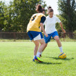 Royalty-Free Stock Photo: Girls soccer