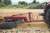Tractor preparation the field — Foto de Stock