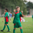 Kids football match — Stock Photo #30976865