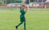 детский футбольный матч — Стоковое фото