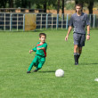 Kid's soccer — Stock Photo