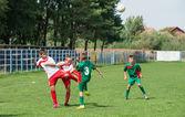 Kid's soccer — Stock Photo