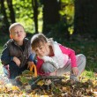 Little kids in nature — Stock Photo #33793059