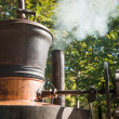 Stock Photo: Whiskey distillery