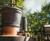 Whiskey distillery — Stock Photo
