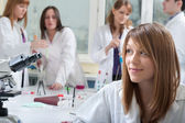 Portrait of medical students — Stock Photo