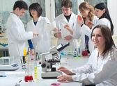 Medical students — Stock Photo