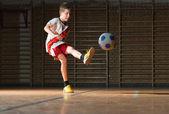 Kids soccer — Stock Photo
