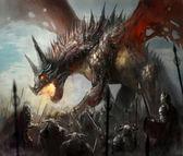 Dragon hunt — Stock Photo