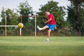 Kicking — Foto Stock