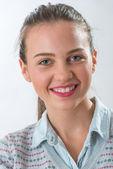Genç kız portresi — Stok fotoğraf
